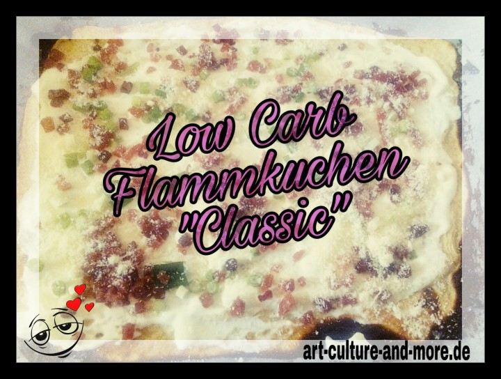 "Low Carb Flammkuchen ""Classic"""